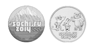 олимпийские рубли