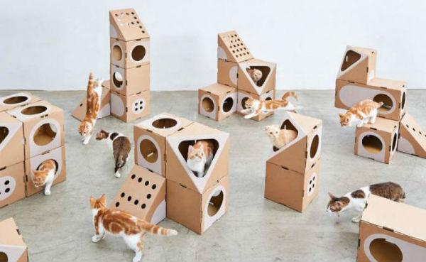 домик для кошки фото 11