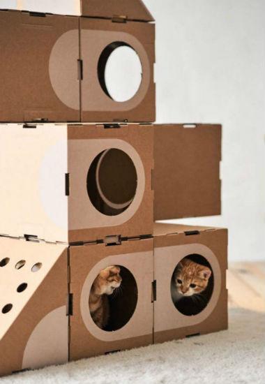 домик для кошки фото 5