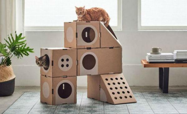 домик для кошки фото 6